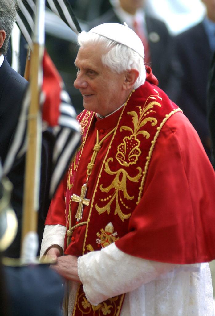 Paavi Benedictus XVI kuva Wikimedia