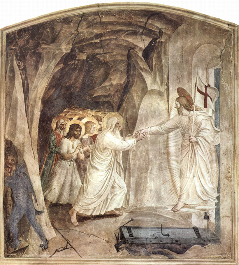Fra Angelico Kristus tuonelassa