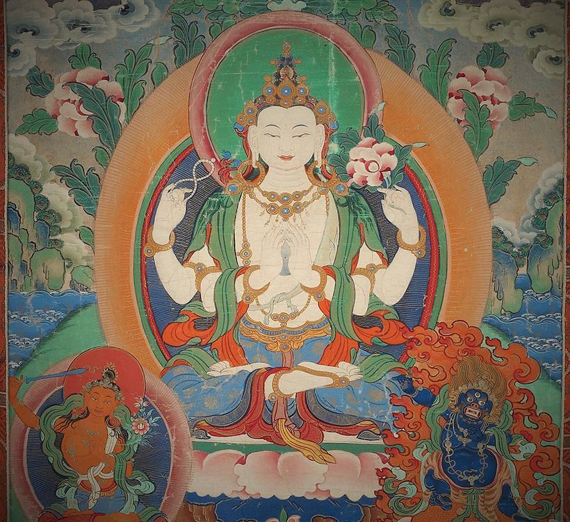 Kuva 2 Bodhisattva Avalokiteshvara