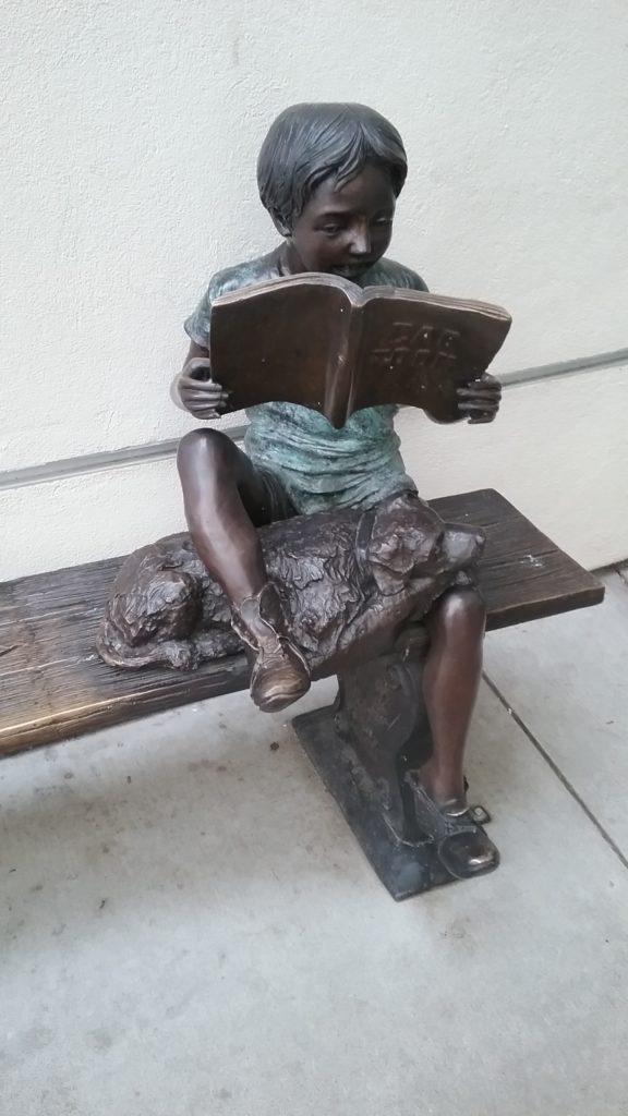 Patsas lukevasta lapsesta